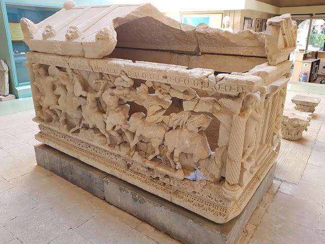 amazonlar lahidi kütahya arkeoloji müzesi
