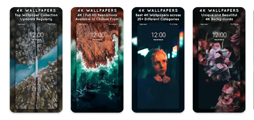 4K Wallpapers Premium apk v1.8.1 (MOD, dernière version)