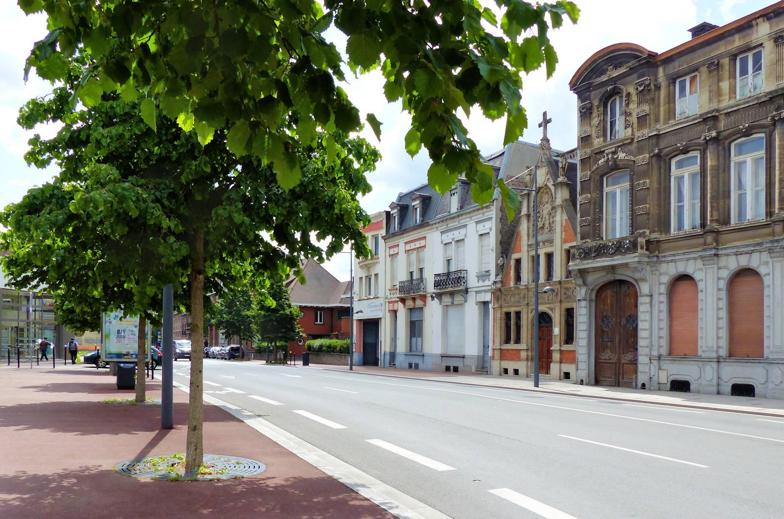 Chapelle du Voeu - Tourcoing, rue Faidherbe