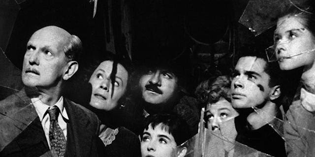 Cena de O Diário de Anne Frank, filme de 1959.