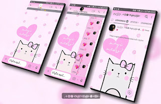 Cat Cute Theme For YOWhatsApp & Fouad WhatsApp By Nanda