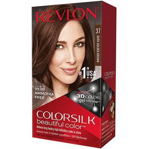 Thuốc Nhuộm Tóc Revlon Với Keratin 37 Dark Golden Brown Xách Tay Mỹ