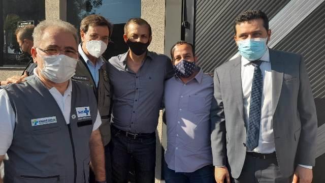 Ministro da saúde confirma o envio o kit de intubação para Cajati
