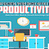 designing-your-home-office-for-productivity #infographic