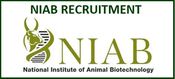 NIAB Scientist Recruitment 2020