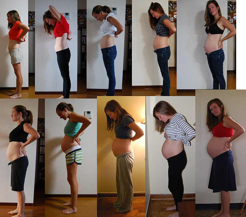Pregnant Bellies Week By Week 72