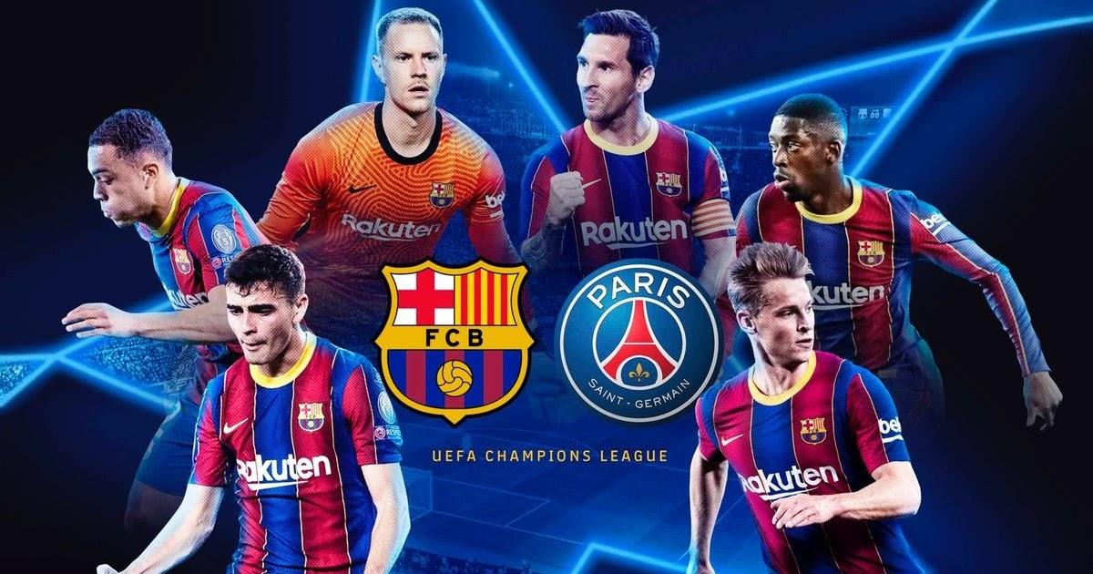 Talk to Kemi (TtK) : FC Barcelona To Face PSG In Champions ...
