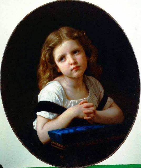 Адольф Вильям Бугро - Молитва (1865)