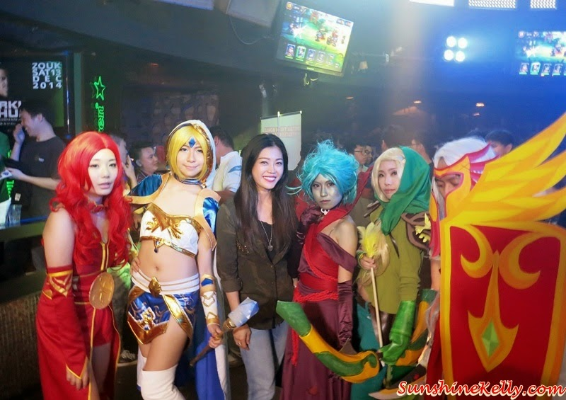 Dot Arena Cosplay Party in Malaysia by FunPlus, Dot Arena Cosplay Party, Dot Arena Games, RPG Games, Dot Arena FunPlus, Cosplayer, Cosplay party, online games