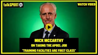 McCarthy: Πως είπε το ΝΑΙ στον ΑΠΟΕΛ (video)