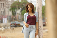Shraddha Das in a Lovely Brown Top and Denim jeans ~ Exclusive Unseen Beauty HD Pics 001.JPG
