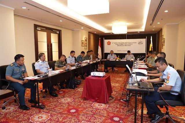 Aspers Panglima TNI : Sidang JETSC Brunesia Ke-5 Tingkatkan Kerjasama Bidang Pendidikan dan Latihan