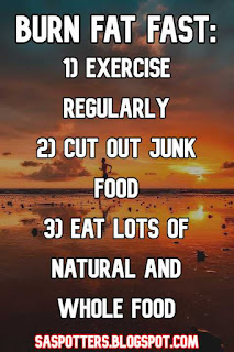 Exercise regularly, cut out junk food and eat natural food.