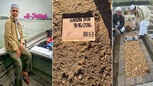 Mengapa Almarhum Tuan Guru Dato Dr Haron Din berwasiat dikebumikan di tempat beliau menghembuskan nafas terakhir? Inilah jawapannya. Akhirnya kita bertemu perbezaan yg ketara dikalangan org yg berilmu. AlFatihah