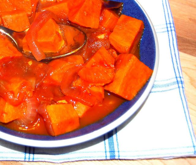 Braised Sweet Potatoes