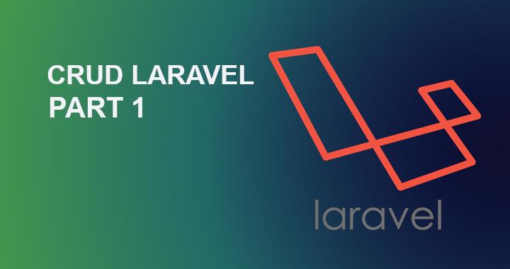 crud laravel part1