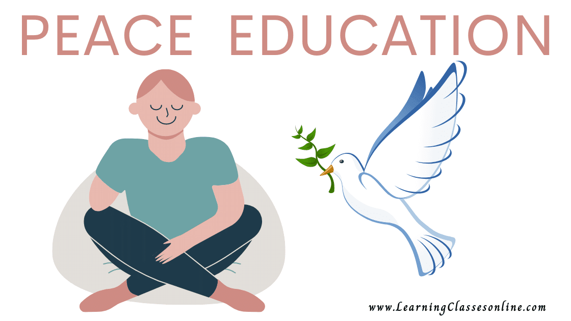 PEACE EDUCATION- Introduction, Concept, Meaning, Definition, Aims and Objectives, Historical Development, Scope, Approaches, Major Institutions and Organizations, Gandhiji's Contribution, Education for Peace, Teaching Methods for Peace Education, Culture of Peace, Pedagogy of Peace Education, Inner Peace,Peace Education Handmade Short Examination Notes, Book, Study Material PDF for B.Ed in English Free Download