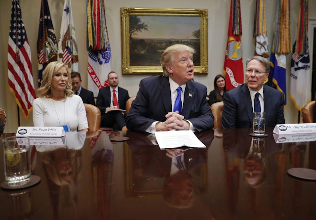 Trump religious advisers have scorned the flu, the facts and football players