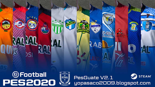 PES 2020 PesGuate 2020 V2.1 by pasaco2009