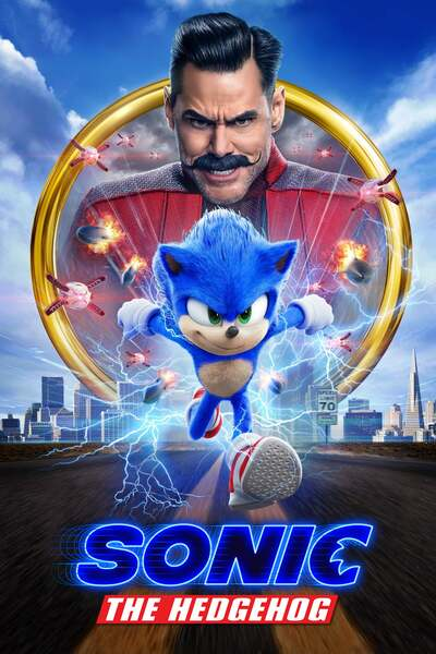 Sonic The Hedgehog (2020) English 480p & 720p HDCAM  Movie