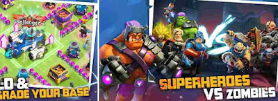 Game Super Hero X-War: Clash Of Zombie