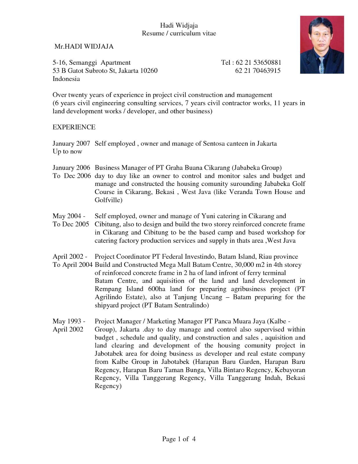 Contoh Daftar Riwayat Hidup Cpns Pdf Contoh 193