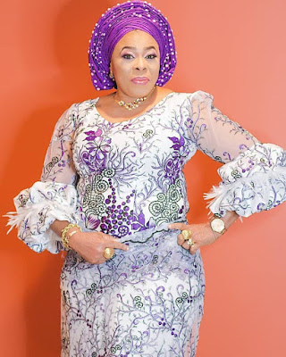 Actress  Toyin Adewale Mayorkun's mum