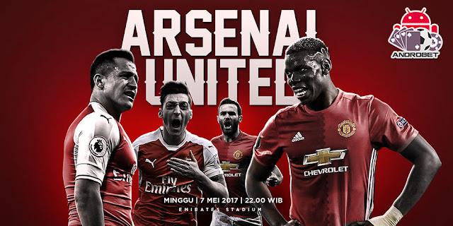 Prediksi Skor Arsenal vs Manchester United 7 Mei 2017