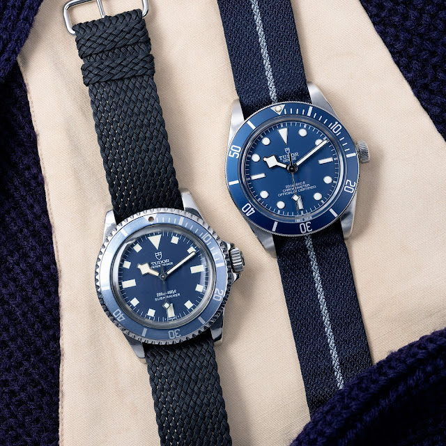 "Tudor Black Bay Fifty-Eight ""Navy Blue"" automatic watch"