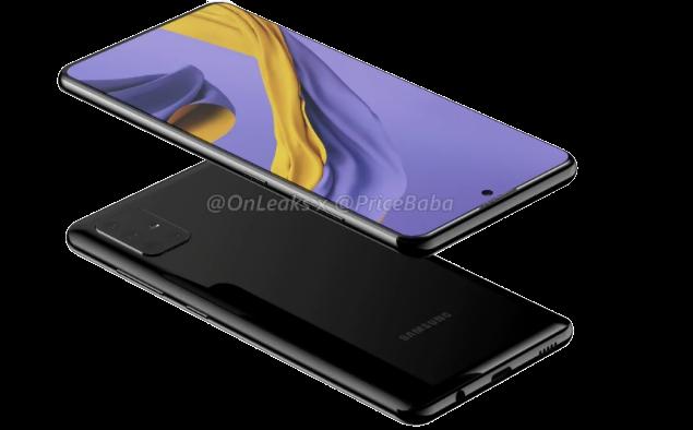 تستعد شركة Samsung إطلاق هاتفها الجديد Samsung Galaxy A51 تقول   التسريبات أنه سيأتي بأربع كاميرات في الخلف في وحدة نمطية مستطيلة الشكل. يُنظر إلى الهاتف على شاشة عرض ثقيلة مماثلة لشاشة Samsung Galaxy Note 10. تحتوي شاشة الثقب الموجودة على Samsung Galaxy A51 على آلة تصوير سيلفي في الوسط العلوي. تم الإبلاغ عن Samsung Galaxy A51 بشاشة عرض 6.5 بوصة وسماكة 8.5 ملم عند عثرة الكاميرا.    سيحصل هاتف Samsung Galaxy A51 أيضًا على بطارية بقدرة 4000 مللي أمبير في الساعة.   في حين أن اللوحة الأمامية ستضم كاميرا سيلفي 32 ميجا بكسل. ويقال أيضًا أن الهاتف الذكي يحتوي على One UI 2.0 استنادًا إلى Android 10. يشير تسرب Geekbench إلى أن Samsung Galaxy A51 قد يكون مدعومًا بواسطة Exynos 9611 SoC. من المتوقع أن تحصل Samsung على Galaxy A51 ضمن مجموعة 2020 من طرز Galaxy A-series.