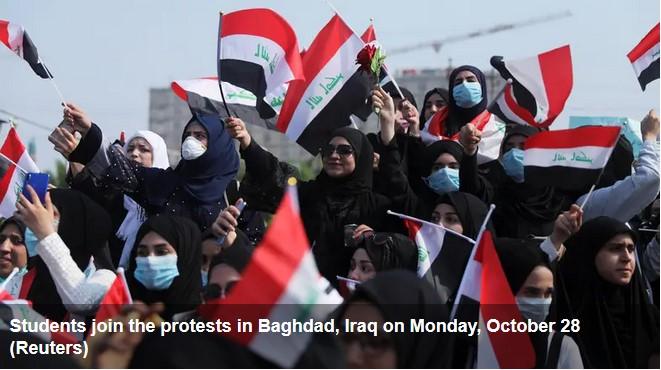 demo irak 5 tewas