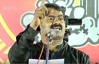 Seeman full Speech – Karunanidhi Jayalalithaa and Vijayakanth Are Not Tamils
