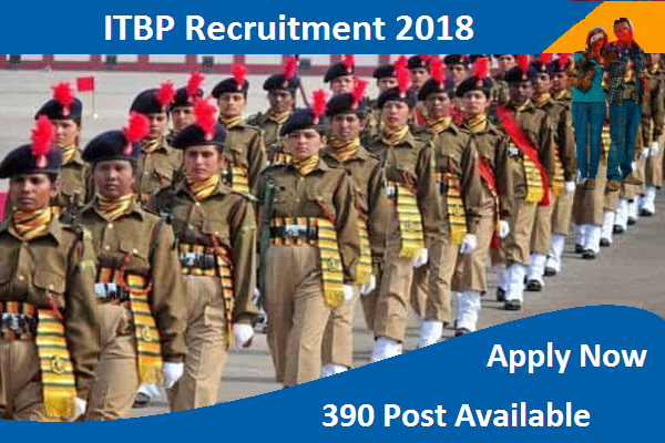 itbp recruitment notification