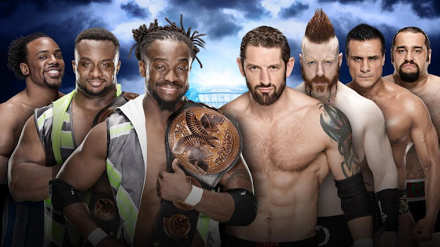 The New Day (c) vs. The League of Nations