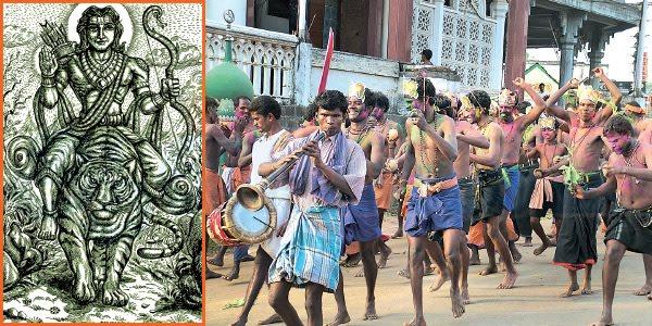 அழகான பேட்டைத் துள்ளல், ஆலமரத்தில் சரக்கோல் குத்து...