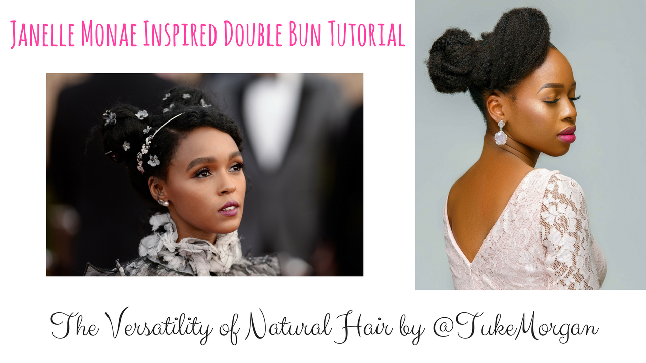 Double Bun Natural Hair Tutorial