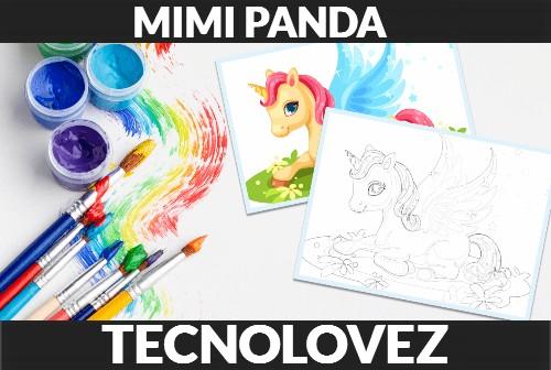 Come trasformare le foto in immagini da colorare online con Mimi Panda