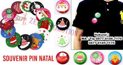 Pin peniti natal, Pin/ Gantungan Kunci Christmas Natal Xmas, souvenir gift xmas peniti, bros natal christmas pin bulat, christmas bros / pin peniti natal hiasan baju xmas gift