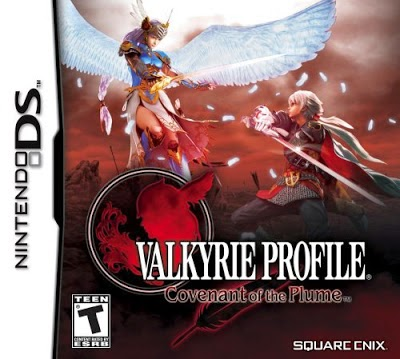 Valkyrie Profile covenant of the Plume game nds rom cover