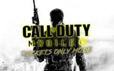 Apa yang membuat Call of Duty Mobile menjadi game yang luar biasa adalah penambahan mode  Panduan dan Tips Main Mode Rockets Only di COD Mobile