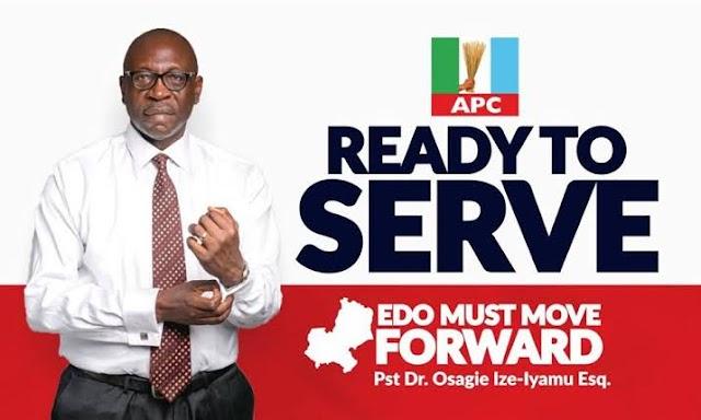 Edo People Set to Make Ize-Iyamu Has Governor!!!
