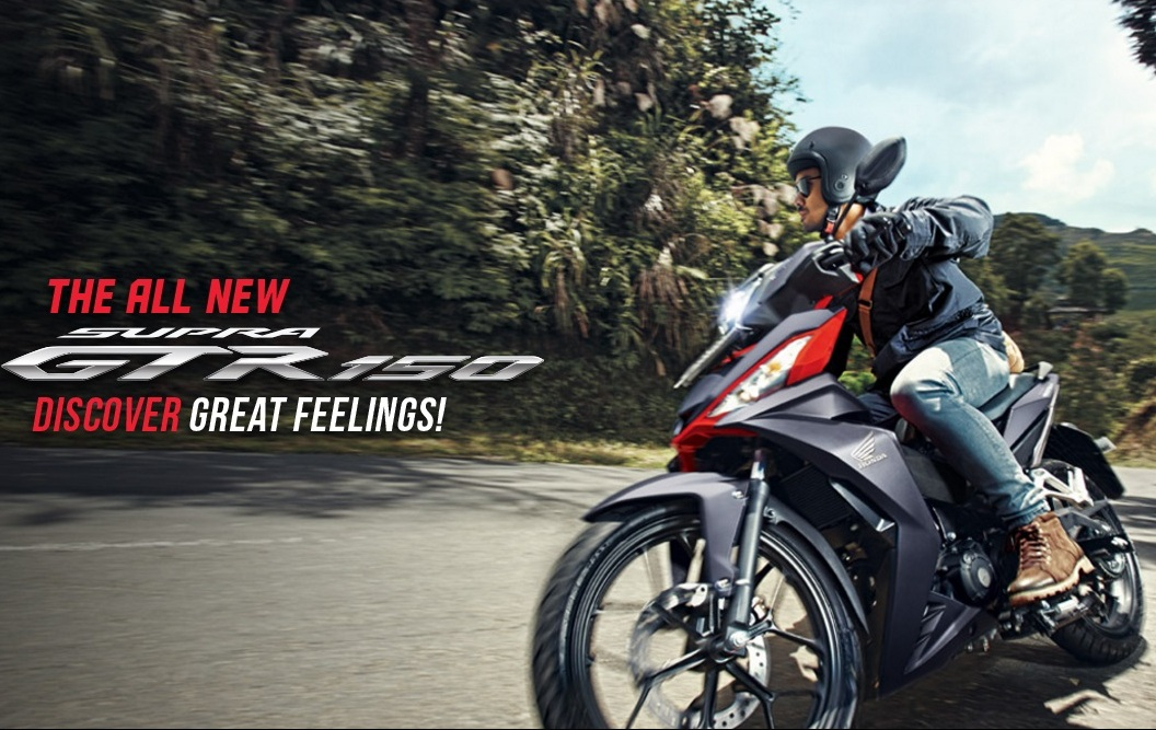 Honda resmi merilis All New Supra GTR 150 . . harga mulai 21 jutaan !