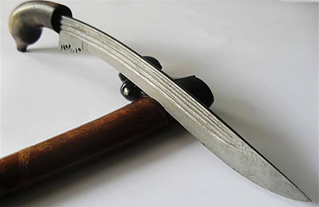 Badik, Senjata Tradisional Dari Lampung