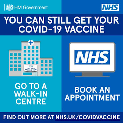 You can still get your COVID vaccine NHS UK