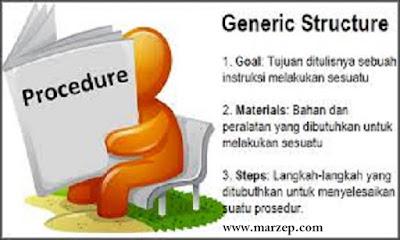 text procedure bahasa inggris