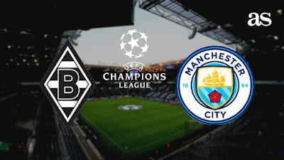Manchester City vs Borussia Monchengladbach : Champions League Live Stream