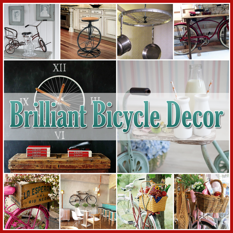 Brilliant Home and Garden Bicycle Decor