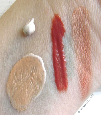 osmosis colour swatches - the beauty puff