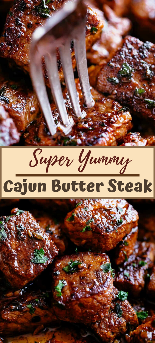 Super Yummy Cajun Butter Steak #dinnerrecipe #food #amazingrecipe #easyrecipe
