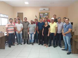 A convite da Câmara Municipal de Algodão de Jandaíra Comandante Coronel Galvao fala da sua atuação à frente do 9BPM